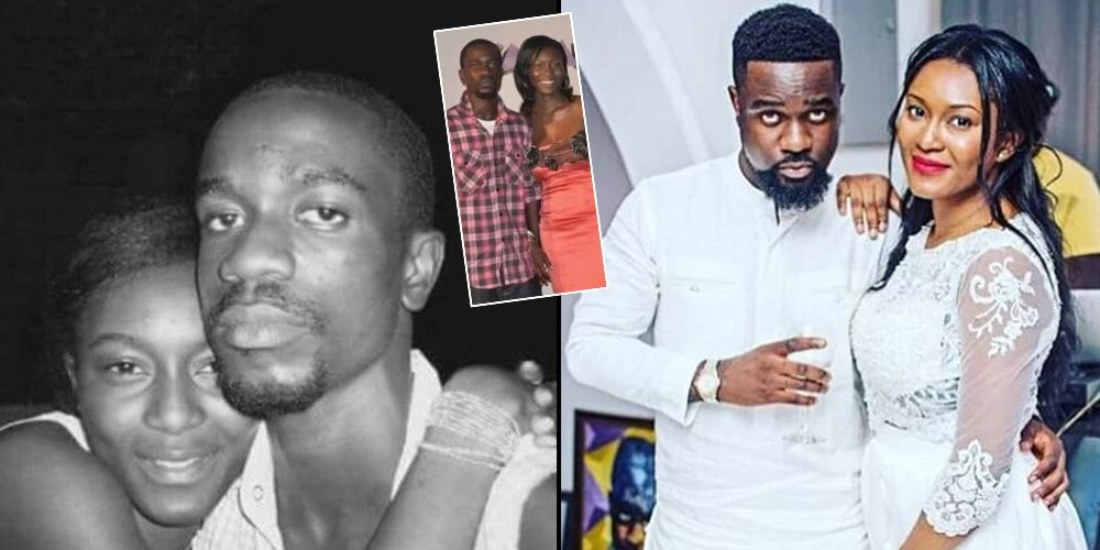 Image result for Ghanaian rapper Sarkodie and wife