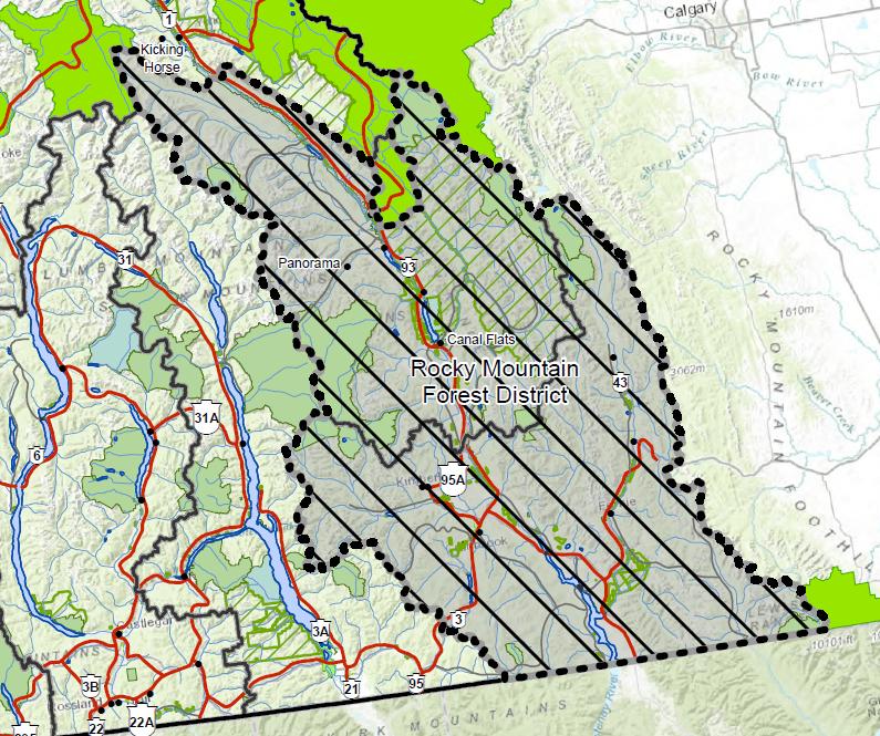 Backcountry closed in East Kootenay region