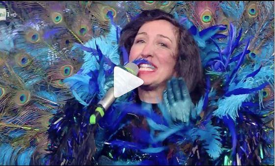 Il cantante mascherato, il Pavone è Emanuela Aureli