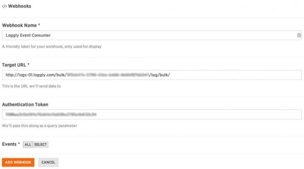Loggly-Webhook-Configuration