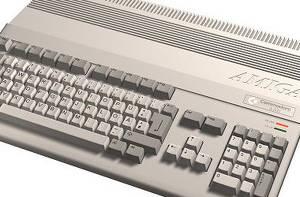 Här på redaktionen testar vi givetvis Amiga-spel på en riktig Amiga 500 - och inte på emulatorer.