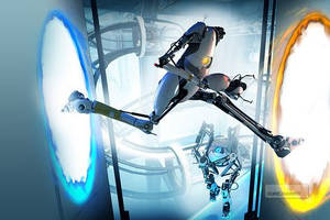 Portal 2 - ett äventyrsspel.