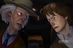 Back to the Future från Telltale Games är ett exempel på äventyrsgenrens högst överdrivna död.