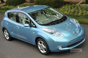 Nissan Leaf - The Video Game?