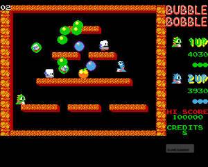 Bub och Bob måste rädda sina tjejer från monster. Vad alla inte vet är att spelet har olika slut beroende på hur du spelat.