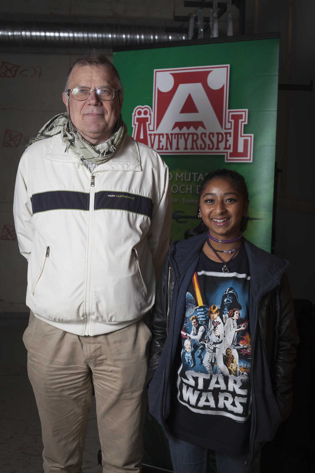Anders Blixt med dottern Estel
