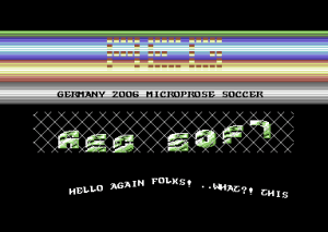 Microprose Soccer - Germany 2006 (AEG Soft, 2006, C64)_1_raw