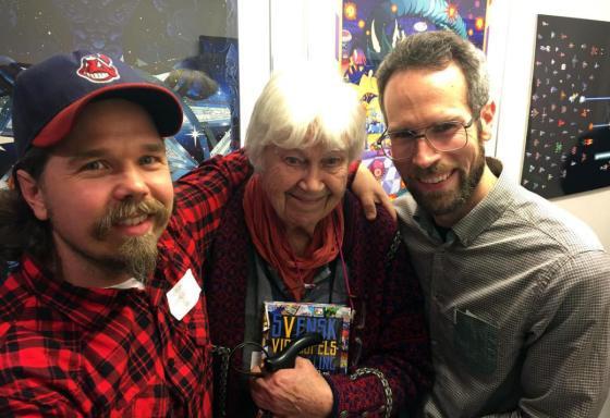 """Thomas """"Sol"""" Sunhede, Elsa Karin Boestad-Nilsson och Martin Lindell."""