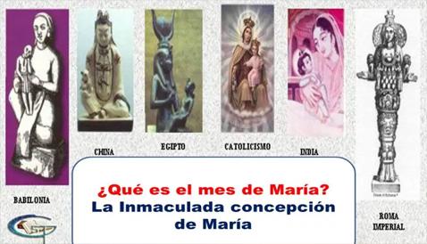 El mes de la inmaculada concepción de María