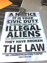 Fliers at WSU targeting 'illegal aliens' appear to be from white ...