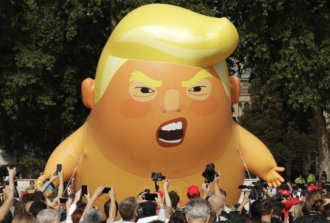 Image result for britain mocks trump
