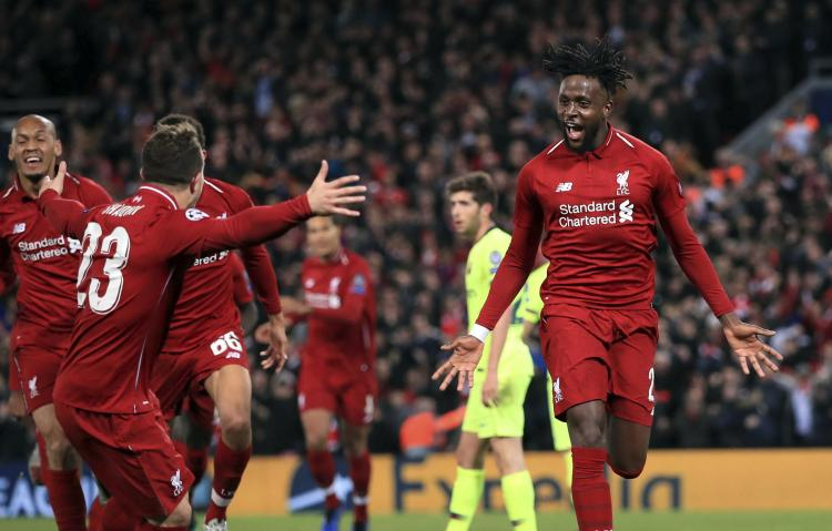 Liverpool ousts Barca in historic UEFA Champions League ...