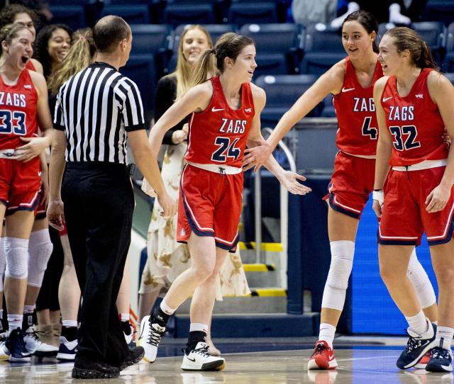 Gonzaga Women Hoping To Stop History From Repeating Itself Ahead