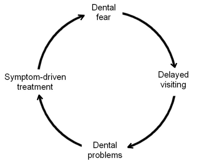 The vicious cycle of dental fear: exploring the interplay between oral  health, service utilization and dental fear | BMC Oral Health | Full Text