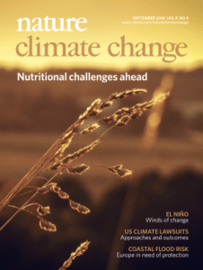 Nature Climate Change Volume 8 Issue 9