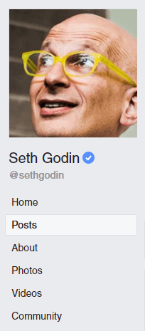 Seth Godin profile picture
