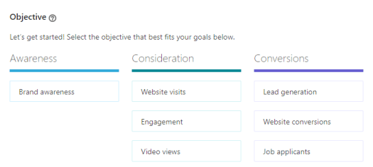 LinkedIn recruiting ad objectives are a smart way to get your job posting in front of more eyes