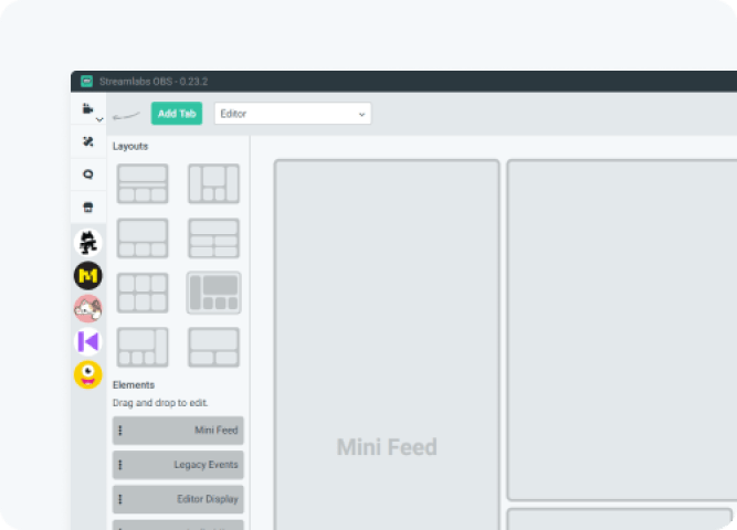 streamlabs layout