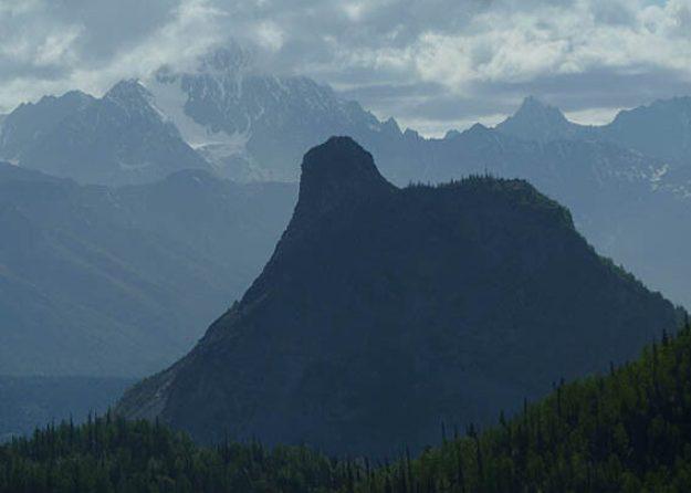 Lion Mountain. Alaska