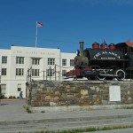 Alaska Railway. Anchorage