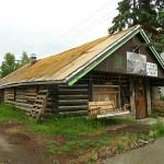 Gammalt hus. Fairbanks