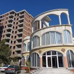Spännande arkitektur. Elbasan