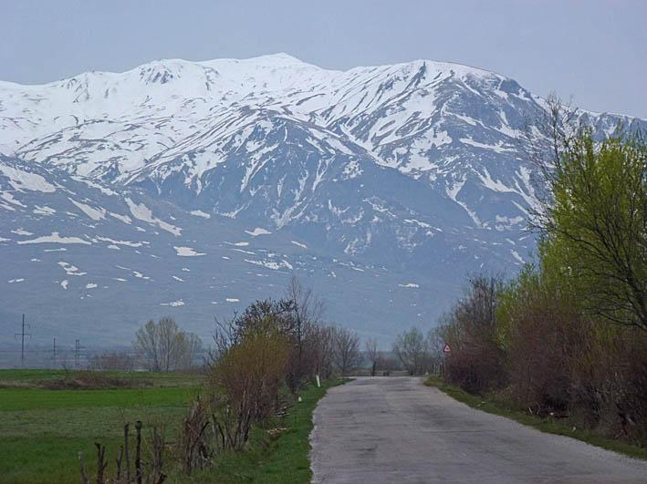 Vägvy söder om Korca