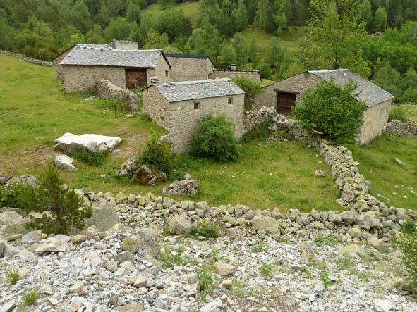Bondgård. Madriu Valley (U)