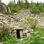 Gammalt fåraherdehus. Madriu Valley (U)