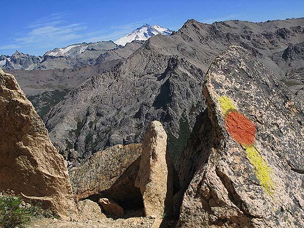 På berget El Catedral. Bariloche