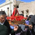 Religiös procession. Salinas