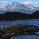 Landskapsvy. Tierra del Fuego. Ushuaia