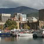 Hamnen. Hobart