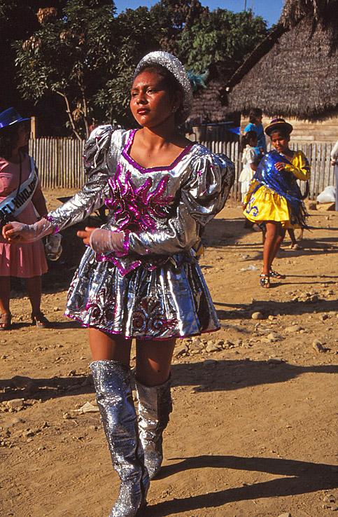 Karneval i San Buena Ventura. Amazonas