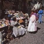 Häxornas marknad. La Paz