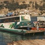 Färja på Titicacasjön