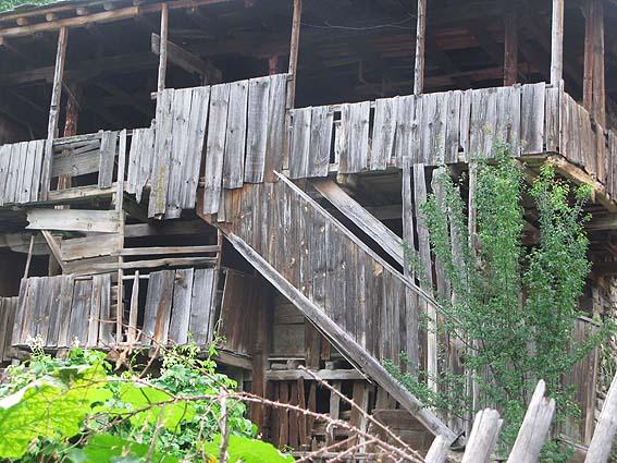 Hus i byn Kovachevitsa