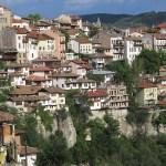 Vy över staden. Veliko Turnovo
