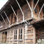 Gammalt hus. Byn Zhervana
