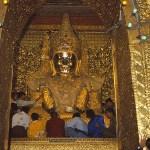 Mahamuni pagoden. Mandalay