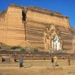 Världens största pagod. Mingun