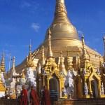 Schwedagonpagoden. Rangoon