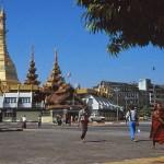 Gatubild. Rangoon
