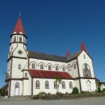Stadens stora kyrka. Puerto Varas