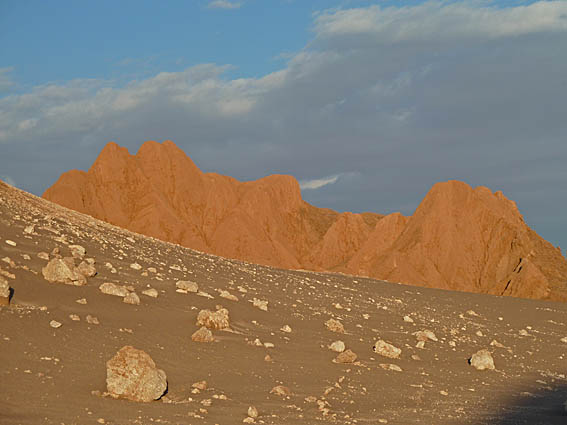 Valle de La Luna. Atacamaöknen