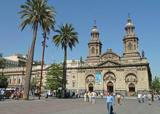 Katedralen. Santiago