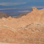 Valle de La Muerte. Atacamaöknen