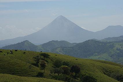 Vulkanen Arenal. La Fortuna