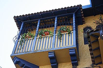 Kolonialt hus. San José