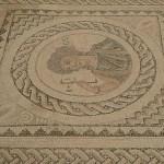 Romersk mosaik. Curium (Kurion)